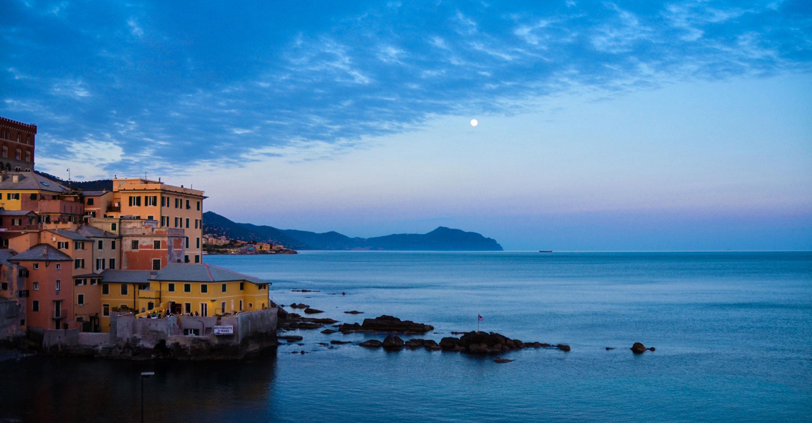 Paesaggi-Italia - Alba a Boccadasse Genova Liguria - Alba_a_Boccadasse_Genova_Liguria -