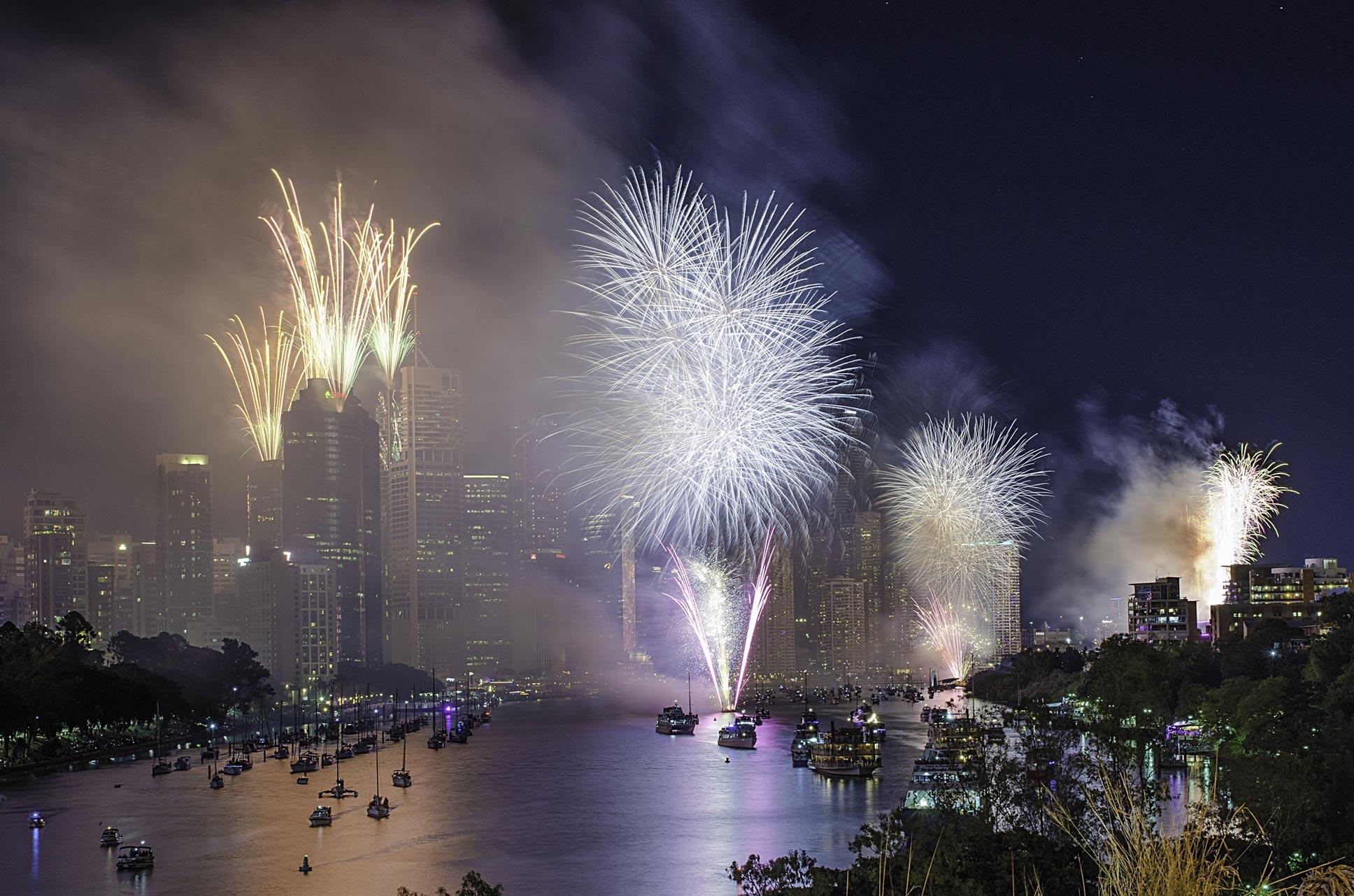 Paesaggi-Australia - DSC 4272 - Fuochi d'artificio in Australia - Fuochi d'artificio in Australia