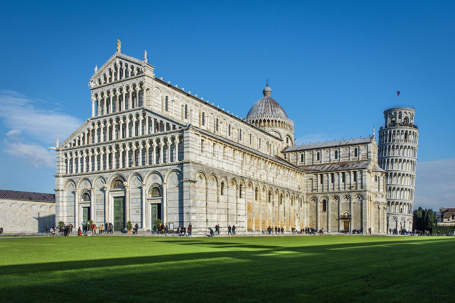 Paesaggi-Italia - DSC 6021 - Piazza-del-campo-Pisa - Piazza-del-campo-Pisa