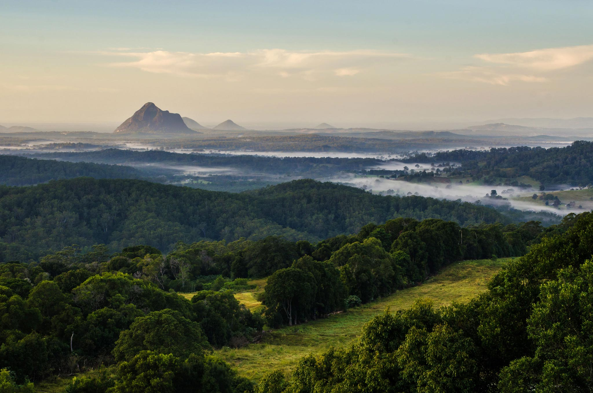 Paesaggi-Australia - DSC 8918 - Glass-house-mountains-Australia - Glass-house-mountains-Australia