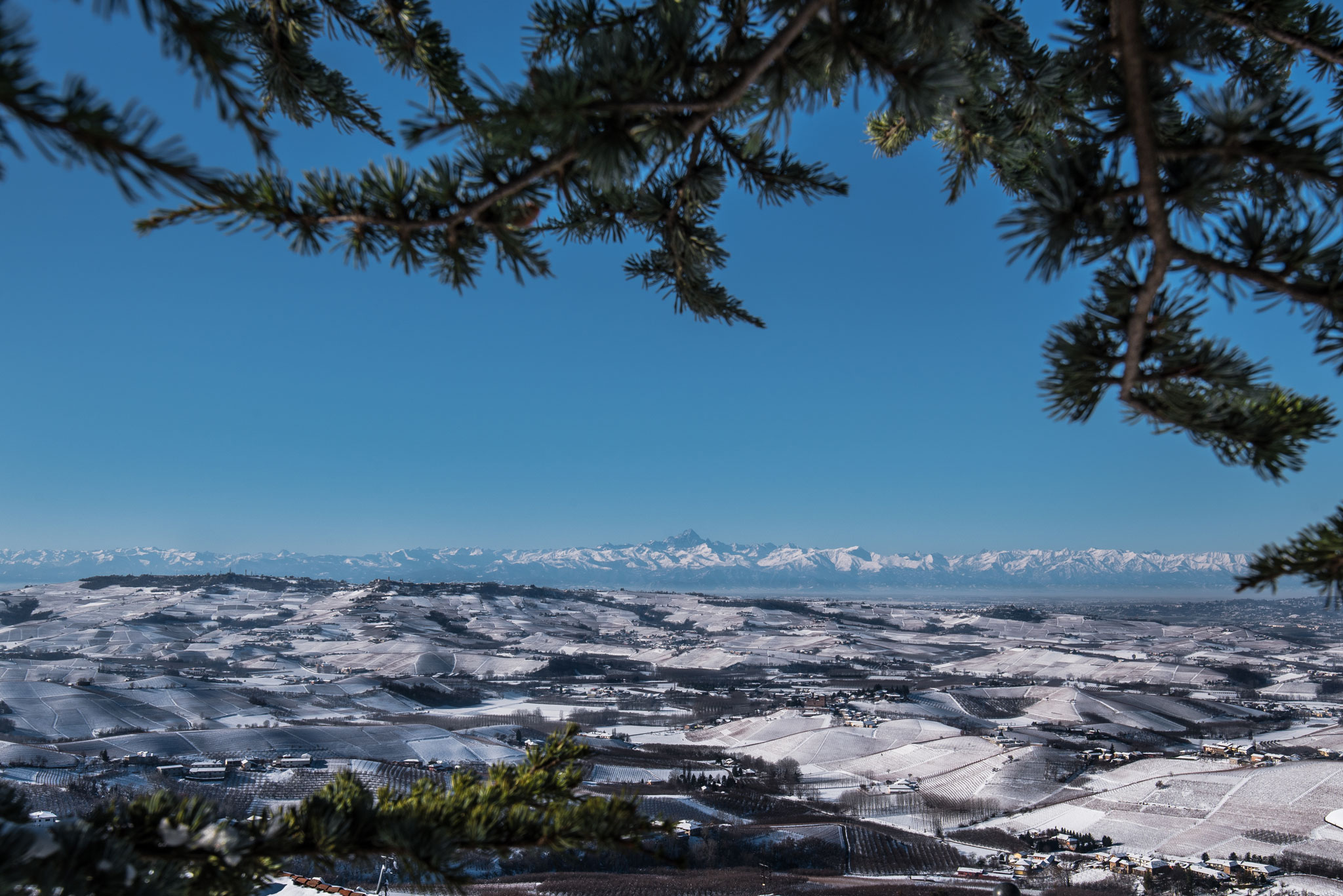 Paesaggi-Italia - Emanuele Tibaldi Fotografo Langhe - Langhe d'inverno- Langhe innevate - Langhe d'inverno- Langhe innevate
