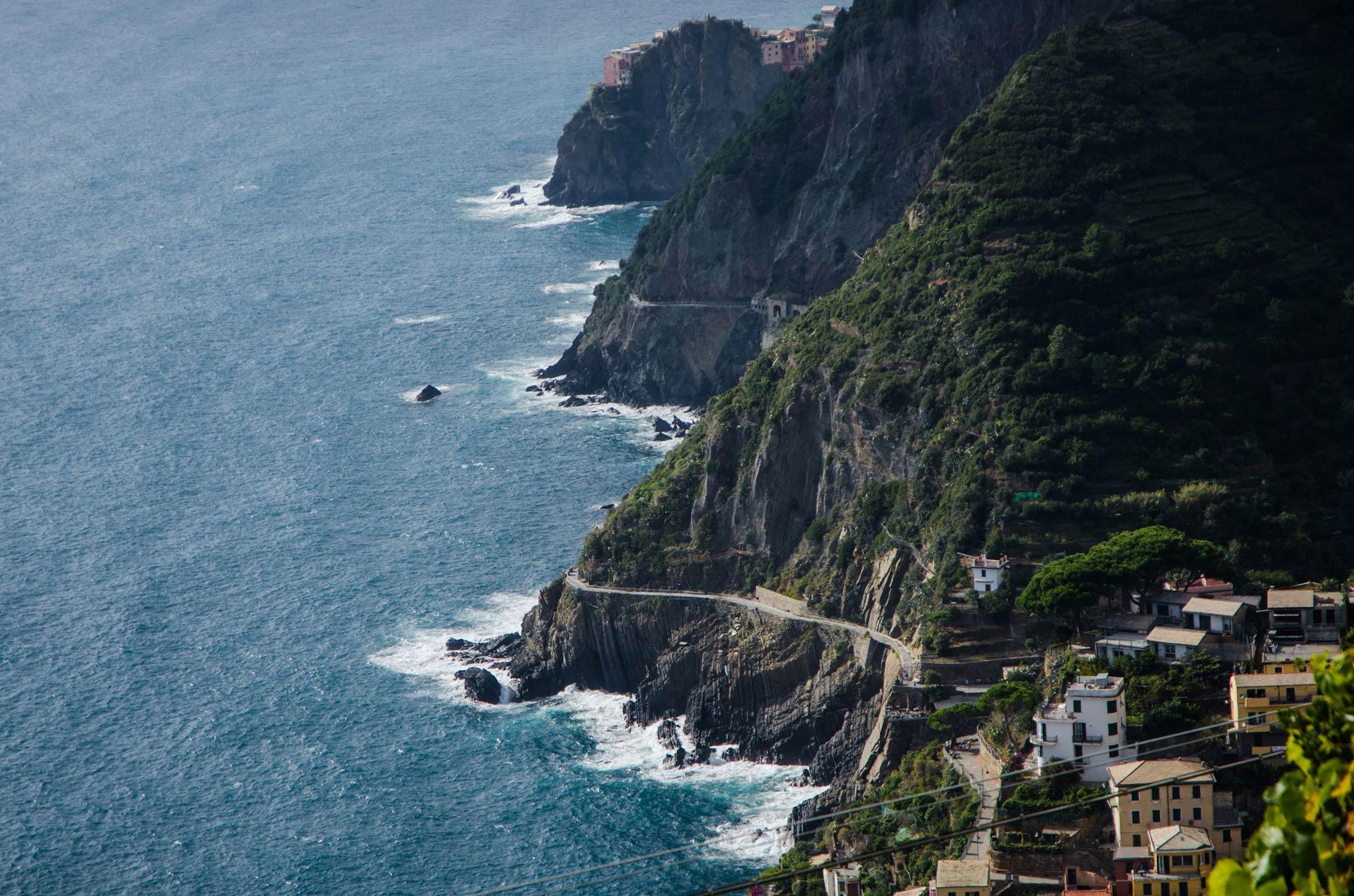Paesaggi-Italia - Montagne Riomaggiore Cinque Terre Liguria - Riomaggiore_Cinque-Terre_Liguria - Riomaggiore_Cinque-Terre_Liguria