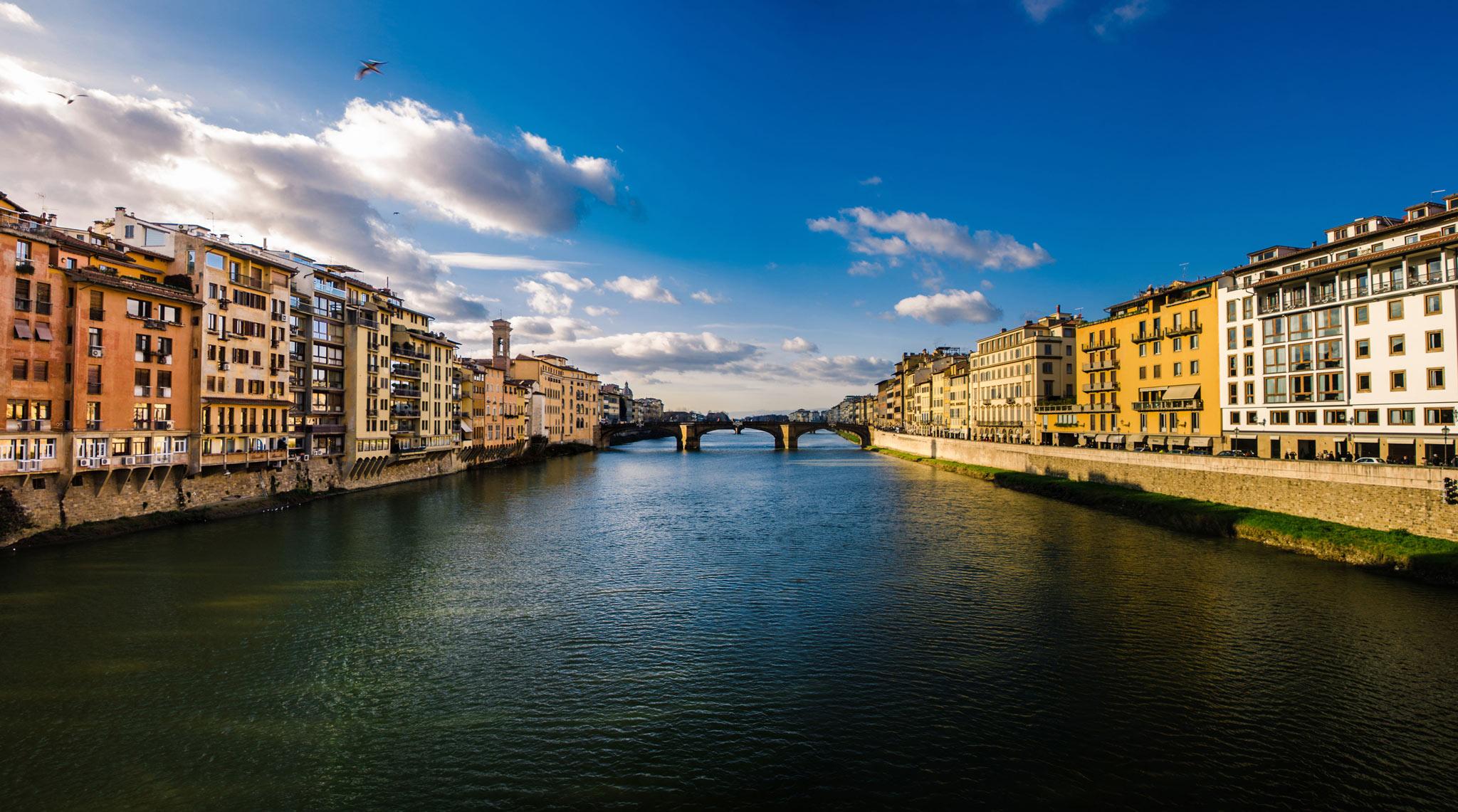 Paesaggi-Italia - Panoramoca Firenze Ponte Mediceo 1 - Panoramoca_Firenze_Ponte_Mediceo -