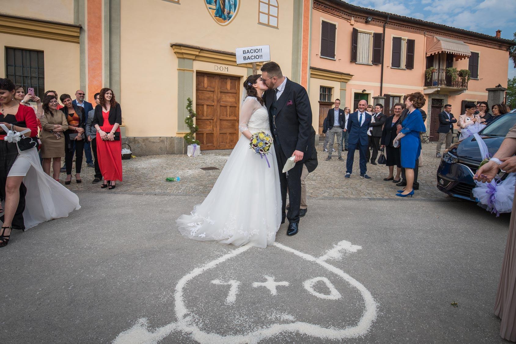 Matrimonio a Narzole Lorenza Diego - DSC 0619 - Fotografie matrimonio bacio - Fotografie matrimonio bacio