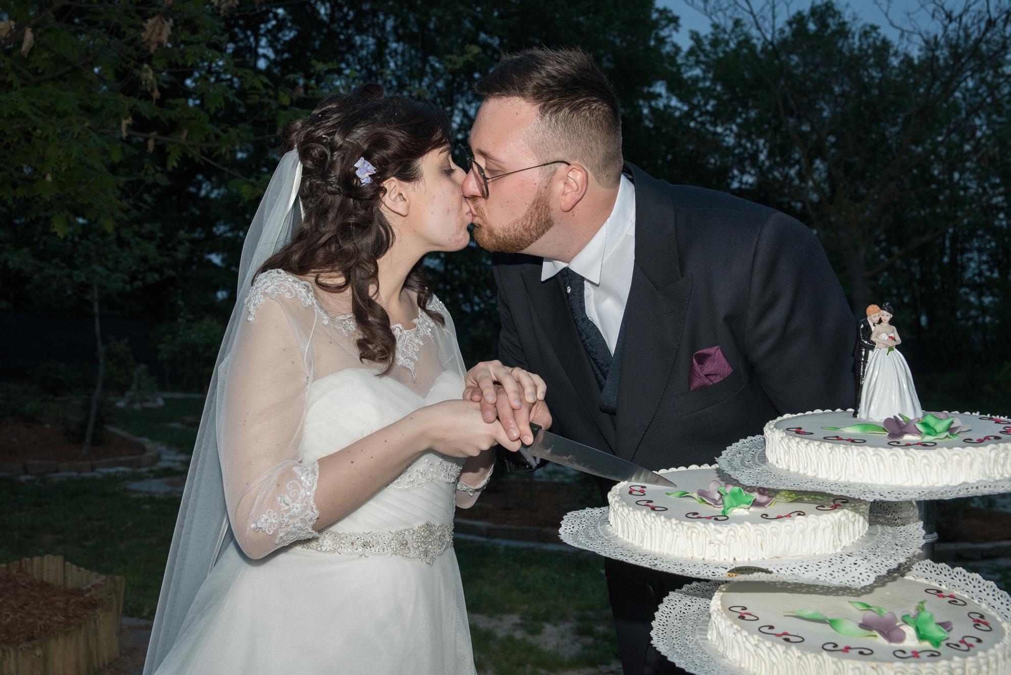 Matrimonio a Narzole Lorenza Diego - DSC 3422 - Fotografie matrimonio taglio della torta - Fotografie matrimonio taglio della torta