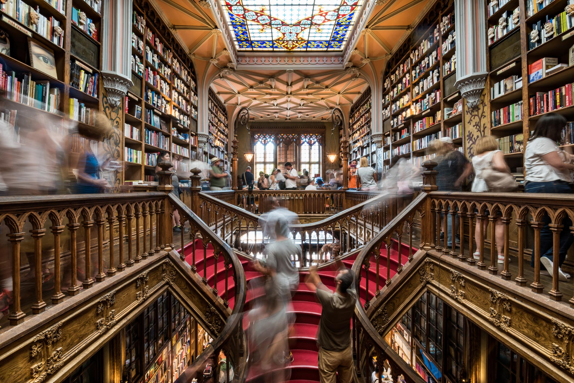 Paesaggi-Portogallo - DSC 2472 - Libreria Lello Porto - Libreria Lello Porto