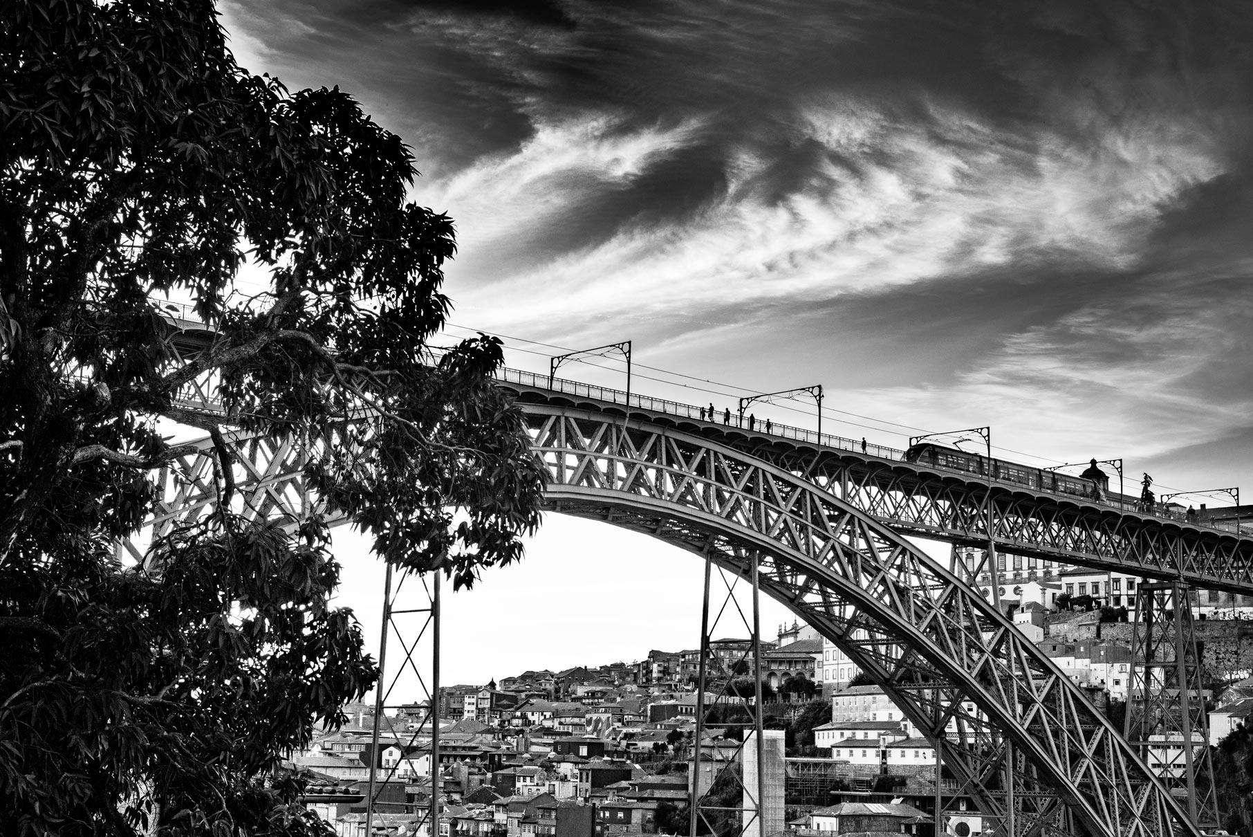 Paesaggi-Portogallo - DSC 2545 - Ponte Dom Luis, Porto - Ponte Dom Luis, Porto