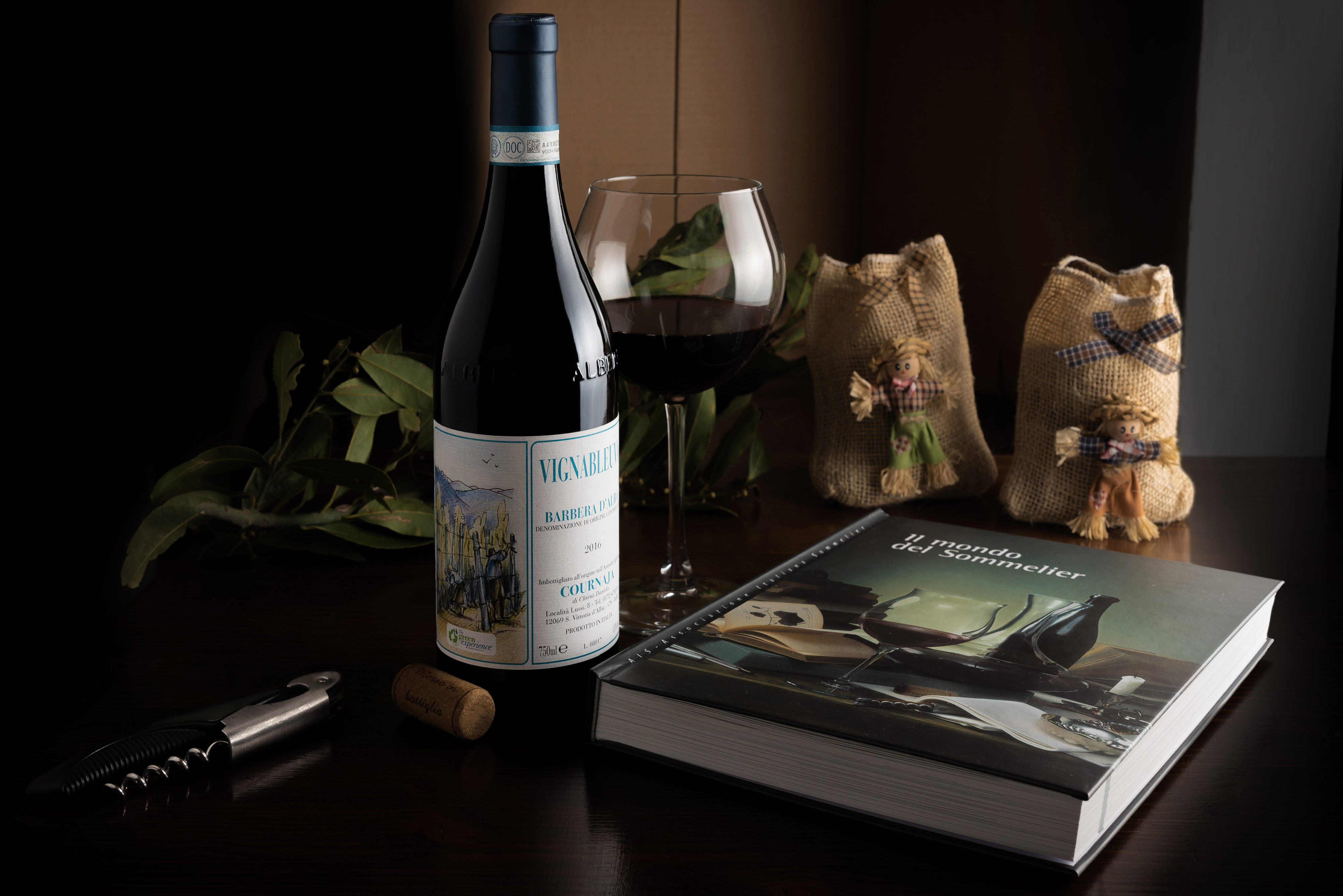 Still life - Still vari 4 - Wine Bottle - Wine Bottle